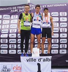800m - Clément Paillon vice-champion de France espoir